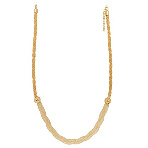 Maayra Jaali Work Pendant Gold Cocktail Party Jewellery - Simple, Rhodium Plated, Brass based  available at amazon for Rs.410
