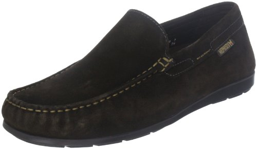 Mephisto ALGORAS VELOURS 9851 DARK BROWN P5051586, Scarpe chiuse non stringate Uomo Marrone (Braun (DARK BROWN VELOURS 9851))