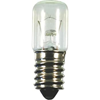 Birnenlampe 26x57mm 40102 E14 24V 15W Allgebrauchsgl/ühlampe Standard 4034451401020 Scharnberger+Has