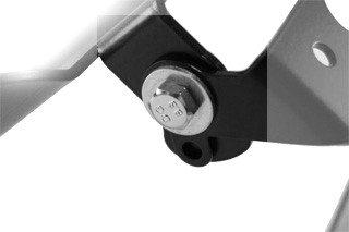 Kennzeichenhalter Honda CBR 125/ 250/ R 11-14 -