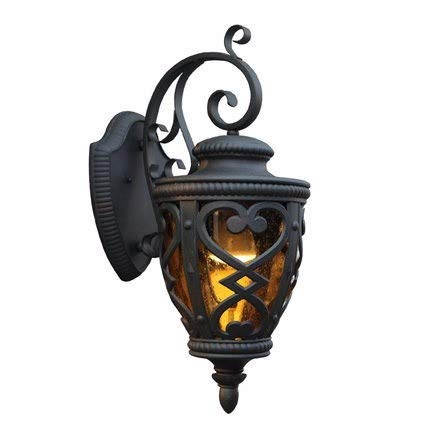 outdoor wall lamp, amerikanische outdoor wall lamp, wall lamp, glaswand lampe, galerie tür sterben casting,5w,normale weiße (Sterben Tur)