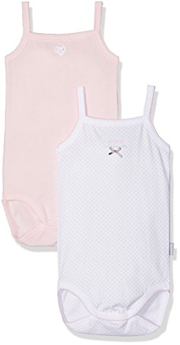 Absorba 2 Bodies Bretelle Mademoiselle, Body Bimbo