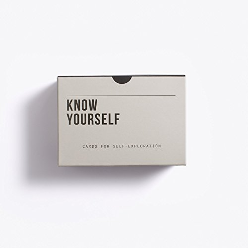 The School of Life - Know Yourself Prompt Cards - Words and images for self-reflection Test