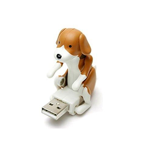 ruiio kein Memory-Kapazität USB Flash Drive Disk Spot Hund Cute Geschenk: Humping Spot Dog Toy, plastik, braun, 2.8*6*5.7cm - 2