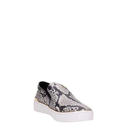 Chaussures Slip On Michael Kors Kyle en cuir imprimée avec python Imprimé animal