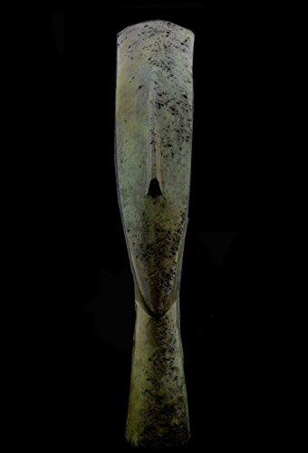Cycladique Tête de bronze – Art grec ancien – Bronze à la cire perdue méthode