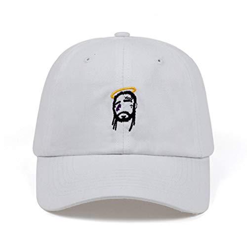 SKAMAO Baseballmütze Crown Engel Caps Männer Frauen Baseball Hut Hip Hop Papa Hüte Baumwolle Einstellbar Mode Knochen Hohe Qualität - Frauen Für Engel-hut
