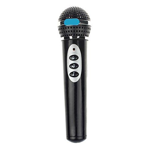 Girls microfono MIC karaoke Singing Kid Funny Gift Music Toy per bambini nero Rycnet