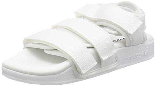 adidas Adilette Straps Damen Sandalen Weiß