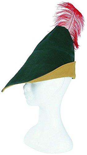 Robin Hood Hut mit Feder