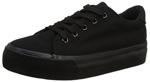 new-look-molossal-double-sole-zapatillas-de-estar-por-casa-para-mujer-negro-black-39-1-9