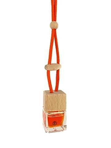 Hanging Bottle Car Freshener (Day-Glo Orange,
