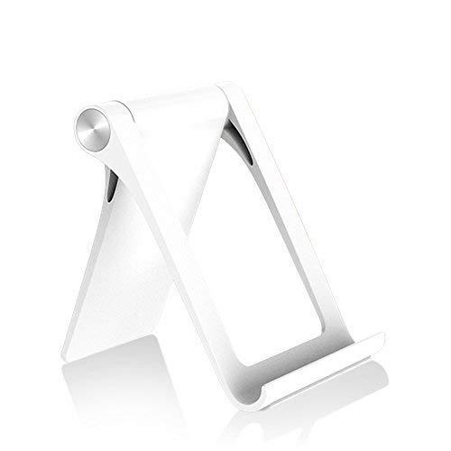 ALIXIN-CP036 Handy Stand,Tablet Ständer,Universal faltbare Multiwinkel-Halterung für Smartphone,Handy Ständer Halterung,Nintendo Schalter, Mehrwinkel Tragbarer Ständer für Tablets (15,2-27,9 cm) -