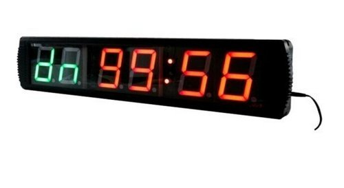 godrelish-4-led-tabata-fitness-crossfit-interval-countdown-haut-mur-minuteur-horloge-telecommande-ir