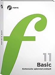 Forte 11 Basic: Notensatz spielend einfach
