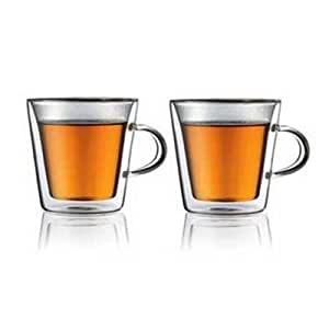 DuoWall Two Cofo Double Walled Coffee Glasses 220ml (41)