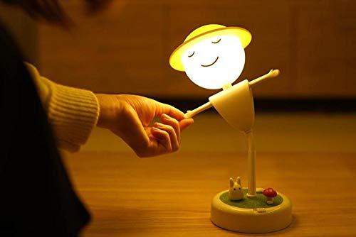 Nachtlicht Vogelscheuche Baby Fütterung Augenschutz Kreative Led Mit Schlaflampen Schlafen Nacht Usb-Ladeschlafzimmer Nacht @ Charging-Modell