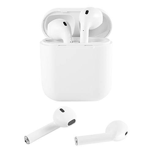 Bluetooth Headset 5.0, drahtloser Sport und schweißfester Bluetooth Kopfhörer Mini Kopfhörer Smart Touch und Mini-Ladefach für Apple AirPod, IOS/Android/ipad Smart Devices - Ipad Ohrhörer Mini Apple
