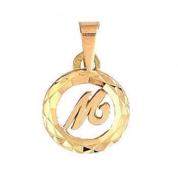 Initiale Or 1 gr Lettre bâton 18 carats - A, B, C, D, E, F, G, H, I, J, K, L, M, N, O, P, Q, R, S, T, U, V, W, X, Y, Z