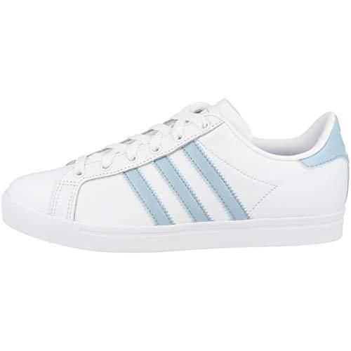 adidas Damen Coast Star W Gymnastikschuhe, Weiß FTWR Ash Grey S18/Ftwr White, 40 EU