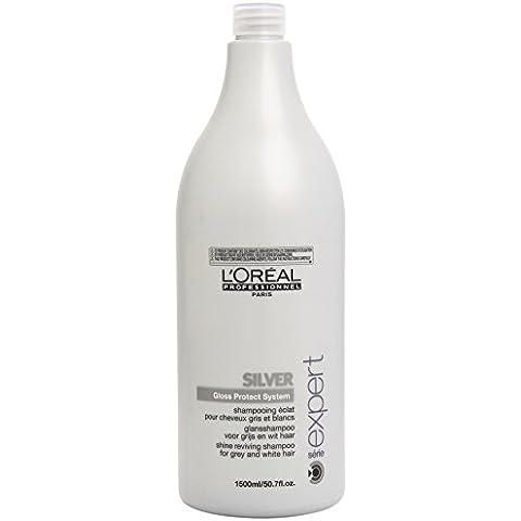 L'Oréal Professionnel Expert - Silver Gloss Protect System - Champú para cabellos teñidos - 1500