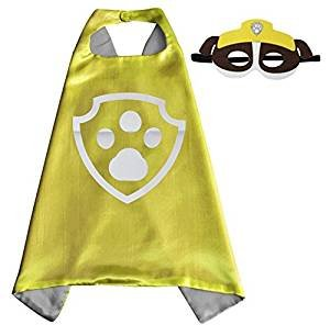 inder Cape und Masken Paw Patrol Schutt Kostüme Super Hero Kleid bis Paw Patrol Schutt Kostüme Avengers Rocky Marshall Skye Schutt Zuma Chase Fancy Kleid (Marshalls Halloween-kostüme)