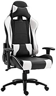 Mahmayi 9854 Gaming Chair High-Back Racing style with Pu Leather Bucket Seat, 360 Swivel with heavy duty steel
