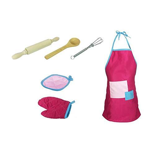 Conjunto cocinar horno niños complet-12pcs conexión-Delantal