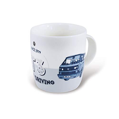 Brisa VW Collection/Volkswagen T3 Bulli Bus Kaffee- & Tee-Tasse, Becher/für Küche, Werkstatt, Büro, Camping-Zubehör/Geschenk-Idee, Souvenir mit VW T3 Bulli Bus Motiv (Keep Driving)