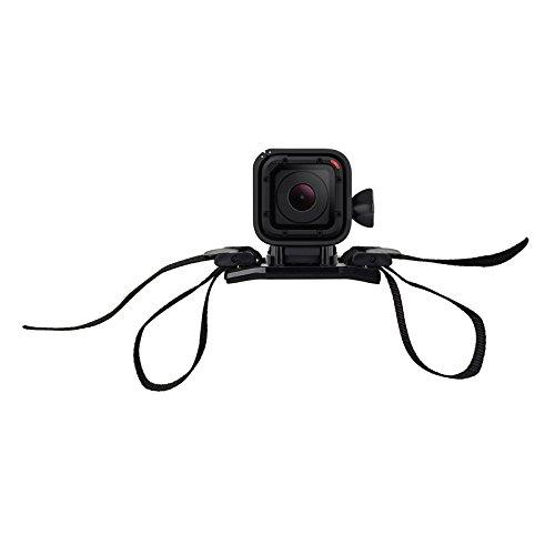 J Design 2 Vented Helmet Strap Mount Underwater Gopro Hero 1 2 3 3+ 4 Sprots Camera Sjcam Sj4000 Sj5000 Sj5000 Xiaomi Sports Action camera Black  available at amazon for Rs.479