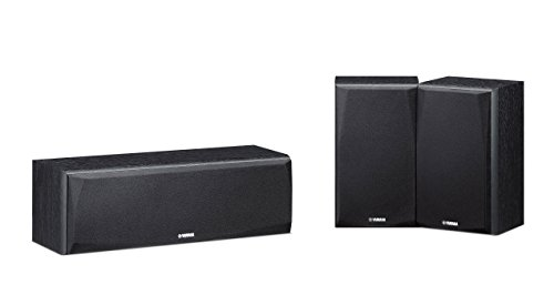 Yamaha NS-P51 BookShelf Speakers(2 Surround and 1 Center)
