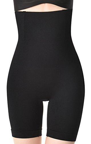 Aivtalk - Braguita Reductora Pantalones Moldeadores con Cintura Alta para Mujer Faja Adelgazante Abdomen - Talla ES L