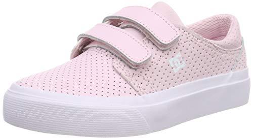 DC Shoes Trase V Se, Scarpe da Skateboard Bambina, Rosa (Pink Pnk), 33 EU