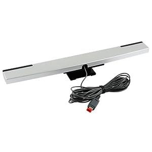 OSTENT Wired Infrarot-Ray-Sensor-Bar-Receiver kompatibel für Nintendo Wii Konsole Videospiel