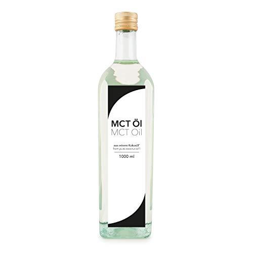 Aceite Detoxfy MCT, calidad premium (6 veces más fuerte que el aceite de coco - sabor neutro), 1...