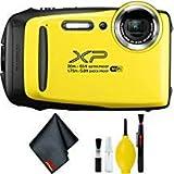 FUJIFILM FinePix XP130 Digital Camera (Yellow) Basic Bundle
