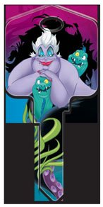 Disney's The Little Mermaid - Ursula Key Blank - UL2 - Blank only, will need to be cut