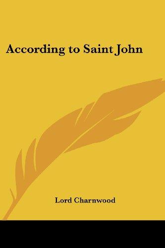 According to Saint John