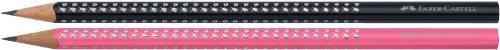 Faber-Castell Grip – Set de lápices, diseño de brillantes