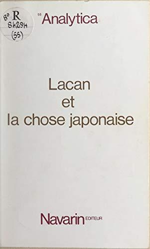Lacan et la chose japonaise Pdf - ePub - Audiolivre Telecharger