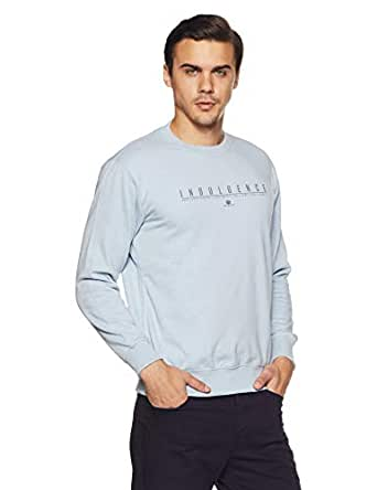 Duke Men's Sweatshirt (LF3351Skyway MixL_Skyway Mix_L)