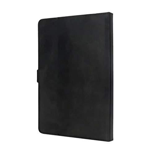 Slim Hülle für Amazon Kindle 10th Generation 2019 Smart Leather Magnetic Case Cover 6 Zoll,Nourish Leather Abdeckung Ledertasche Schutzhülle Smart Zubehör Schützende Replacement (Schwarz (Stenttyp))