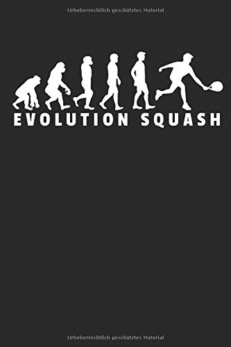Zoom IMG-2 evolution squash notizbuch din a5