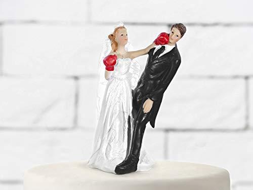 Mentor Interactive Cake Topper IN HARZBRÜCKE PUGI NIMMT STANZE DIE Hochzeit H 14 cm -