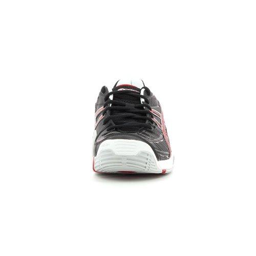 Asics , Scarpe da tennis uomo nero, (NOIR/ROUGE/BLANC), 44 (NOIR/ROUGE/BLANC)