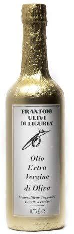 Olio extra vergine di oliva monocultivar taggiasca 1l carta oro