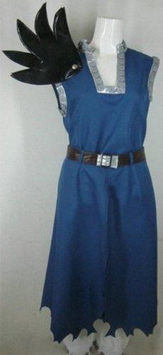 Gajeel Kostüm Cosplay (Sunkee Fairy Tail Gajeel Reitfox Cosplay Costume,Maßgeschneiderte,Größe XL: Höhe)