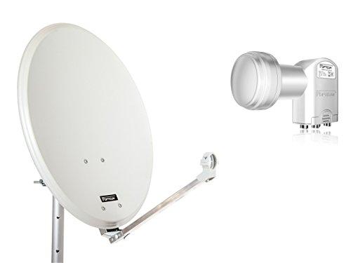 QA60 Antena parabólica Acero opticum LNB Quad 60