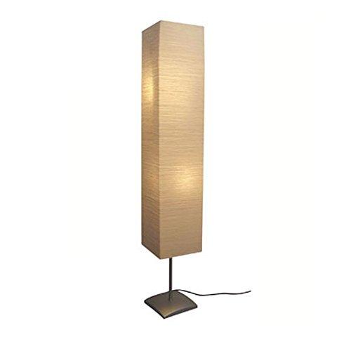 vidaXL 135 cm Stehlampe Papierlampe Standleuchte Leselampe Stehleuchte Lampe Leuchte
