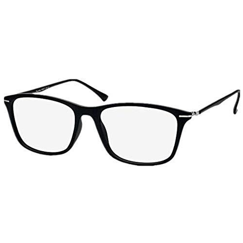 LifeArt Lesebrille, blaues Licht blockiert, Computer-Lesebrille, transparente Linse, reduziert Kopfschmerzen und Augen, stilvoll für Damen und Herren